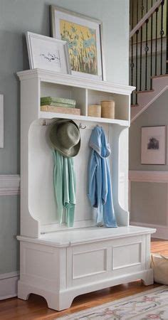 entryway bench with shoe storage and coat rack woodworking plans