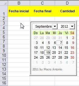 la rebotica de excel generar un calendario autom 225 tico de calendario automatico con excel youtube relojes en excel