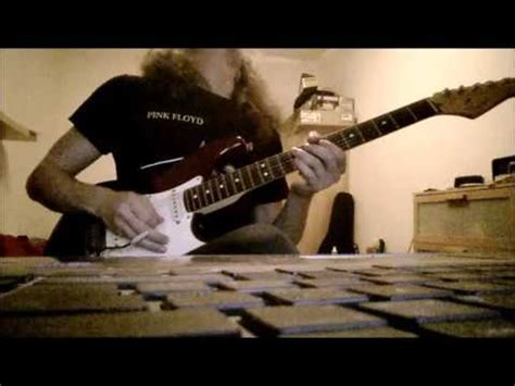 comfortably numb second solo comfortably numb 2nd solo cover youtube