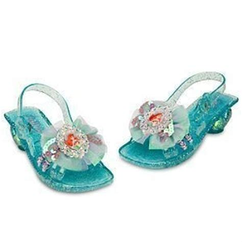 princess ariel light up dress shoes 9 10 disney new ebay