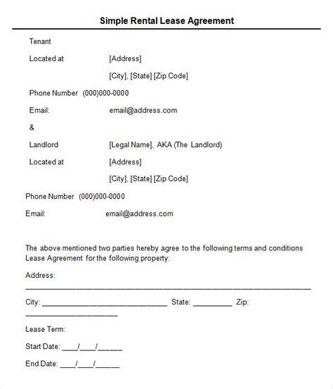 sample leasing agreement templates
