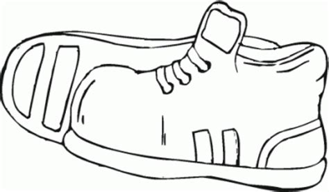 imagenes de unas zapatillas para dibujar dibujo de zapatillas de deporte para colorear y pintar