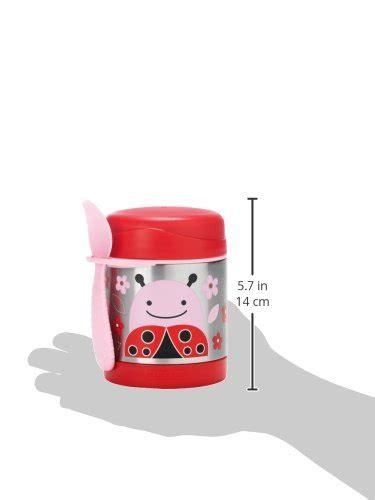 Utensil Set Skip Hop Ladybug skip hop baby zoo kid and toddler insulated food jar and spork set multi livie ladybug