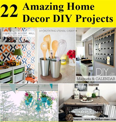 22 amazing home decor diy projects home and tips