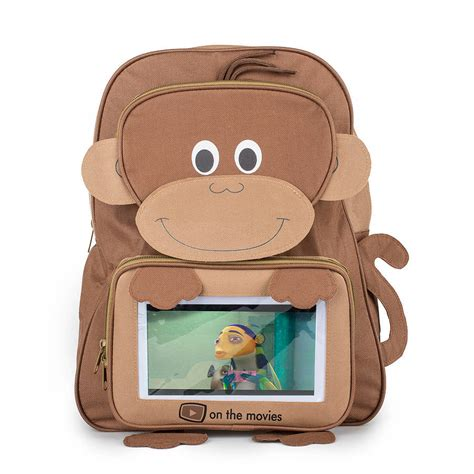 Backpack Bunny Gb 402 child s monkey tablet pocket backpack by on the