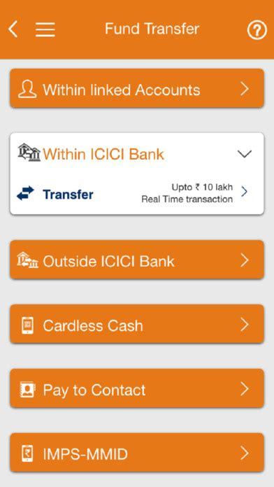 mobile icici bank icici bank mobile banking imobile apprecs