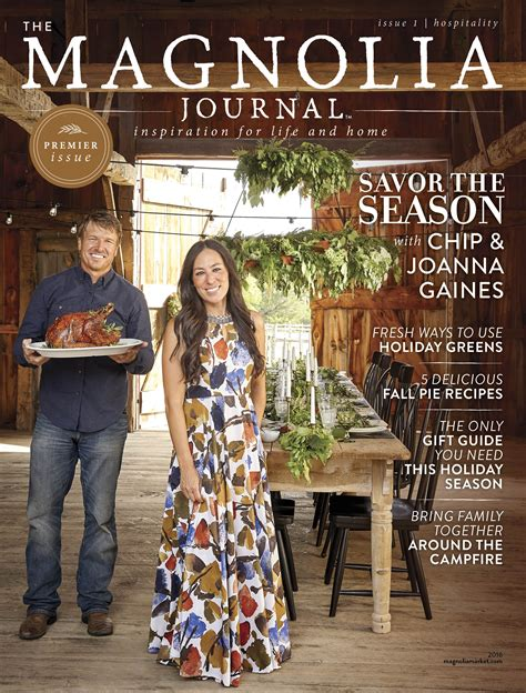 magnolia gaines inside fixer upper s chip and joanna gaines new magazine