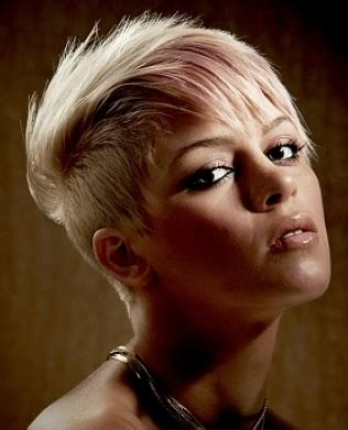 ladies hair styles very long back and short top and sides blond hair women with very short length hair with very
