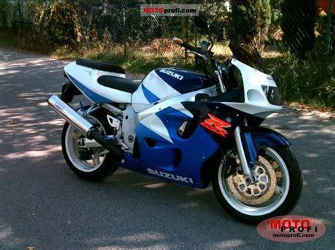 Suzuki Gsx R600 Specs Suzuki Gsx R 600 1997 Specs And Photos