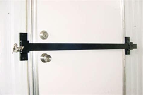 Door Barricade by Door Barricade Hardware Drop Open Bar Security Door Lock