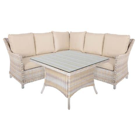 Garden Corner Sofa Set by Barbados 4 Piece Rattan Wicker Garden Furniture Corner
