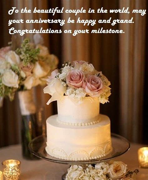 Wedding Wishes On Cake by Happy Wedding Anniversary Wishes Cake Images Best Wishes