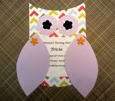 owl templates for invitations owl invitations template best template collection