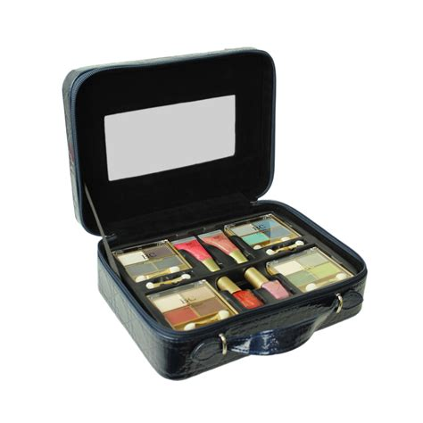 Travel Vanity Cases by Vanity Cosmetic Set Collection Make Up Storage