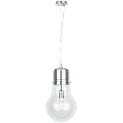 castorama lustre suspension idea chrome h 46 5cm 40w castorama