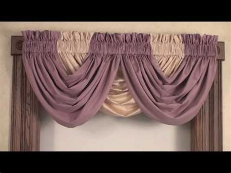 how to make waterfall valance curtains download video waterfall valance