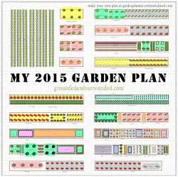 Vegetable Garden Layout Plans My 5 000 Sq Ft Vegetable Garden Plan Grounded Surrounded
