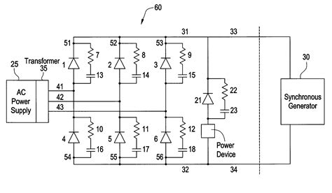 why we use free wheeling diode patent us6442051 thyristor bridge circuit with free wheeling diode for de excitation