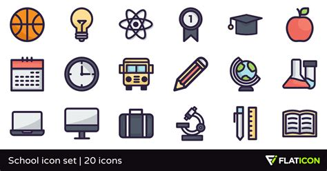 Home Design Plans App school icon set 20 free icons svg eps psd png files