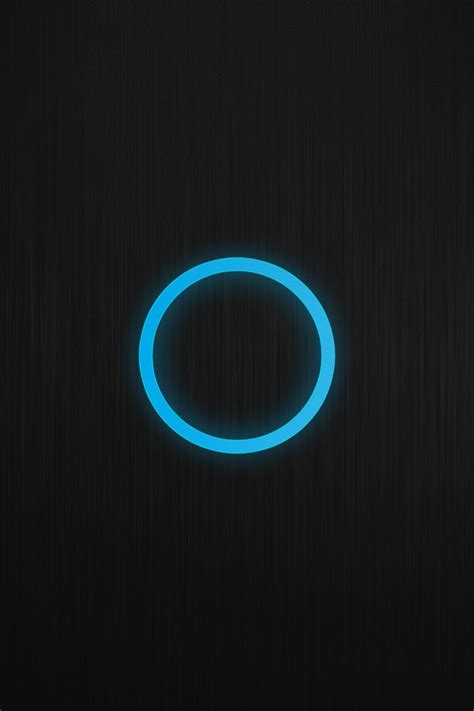 minimalist techno blue black minimalistic patterns circles techno glow