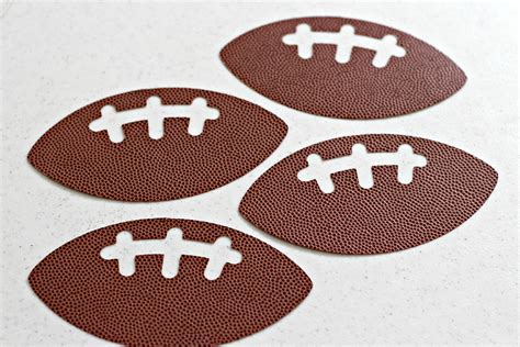 How To Make A Football Out Of Paper - football banner organize and decorate everything