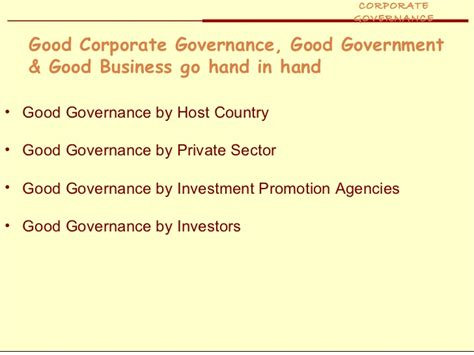 Mba Corporate Governance Questions And Answers by Corporate Governance Ppt Mba