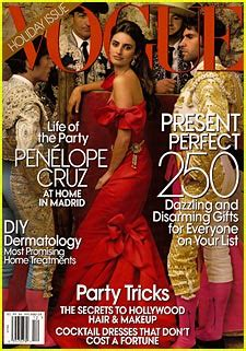 Vogues May 2007 Cover by Penelope Vogue December 2007 Penelope