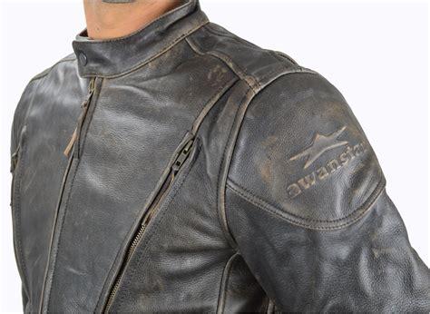 Motorrad Lederjacke Herren Braun by Farbe Vintage Braun Motorrad Lederjacke Brando Motorrad