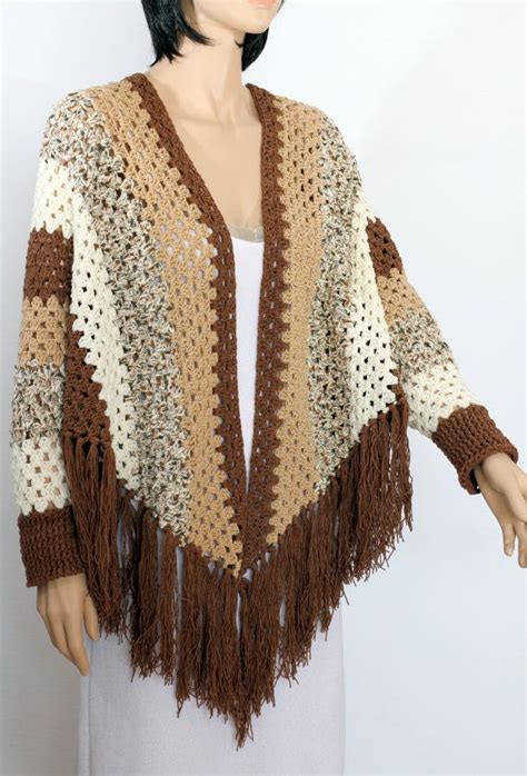 free knitting patterns shawl with sleeves 1181 best crochet scarf shawl sweater images on