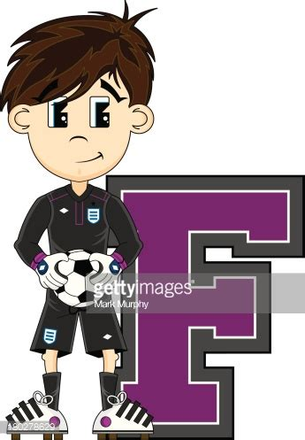 soccer football goalkeeper learning letter s vector art getty images soccer goalkeeper learning letter f vector art getty images