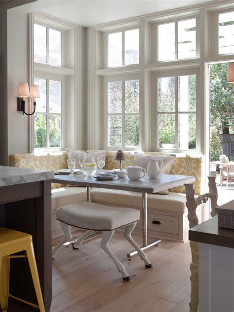 kitchen eating area ideas is my eat in kitchen too awkward for a built in