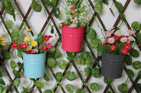 unique plant pots online get cheap galvanized flower pots aliexpress com