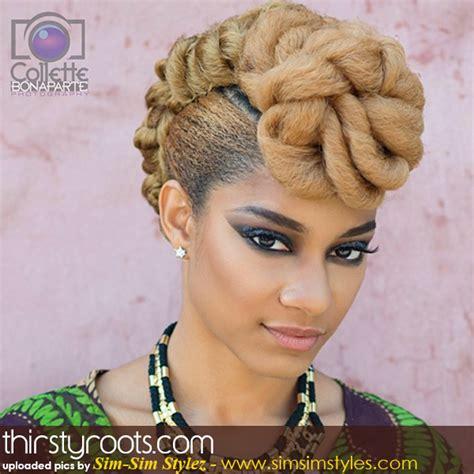 thirstyroots hairstyles natural hair updo hairstyles