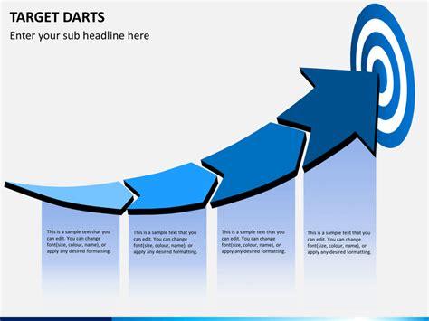 Target Darts Powerpoint Template Sketchbubble Target Powerpoint Template