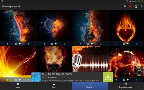 fire wallpapers   apk  android