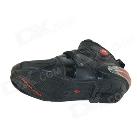 Sneakers Mirror Quality 43 quality motorcycling protective pu leather shoes black pair size 43 free shipping