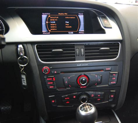 Audi A4 B8 Aux by Audi A4 2008 B8 Concert Aux Hj 228 Lp Forum A4 S4 Rs4