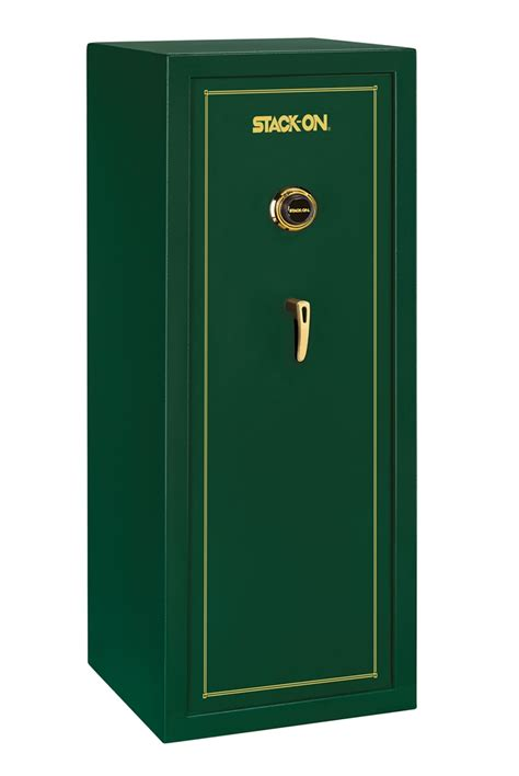 stack on ss series 16 gun safe w combination lock