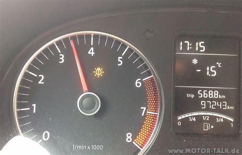 Kontrollleuchten Auto Vw Golf 6 by Getrollt Vom Auto Salamipizza