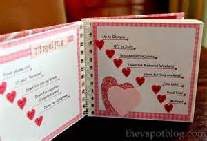 Special Handmade Gifts For Boyfriend - handmade s gift a relationship timeline