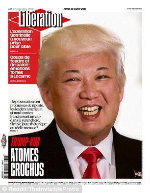 Kim And Trump Memes - trump and kim jong un hair swap daily mail online