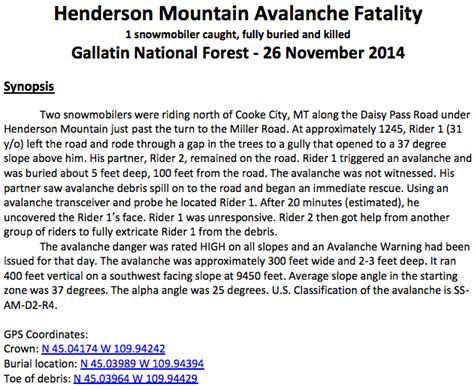 city gear gallatin road learn 1st avalanche of 2014 15 analysis