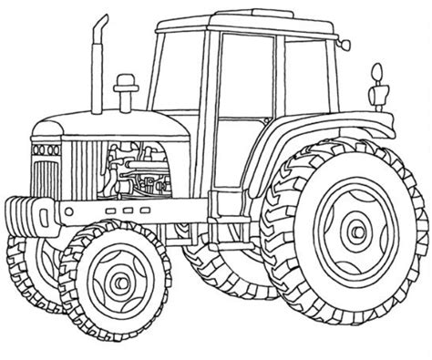 deere tractor coloring page printable deere coloring pages coloring me