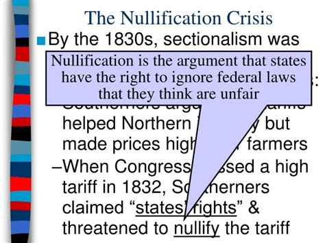 sectional tariff ppt essential question how did america evolve towards