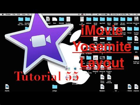 Tutorial Imovie Os X Yosemite | imovie yosemite layout in imovie 10 0 6 tutorial 55