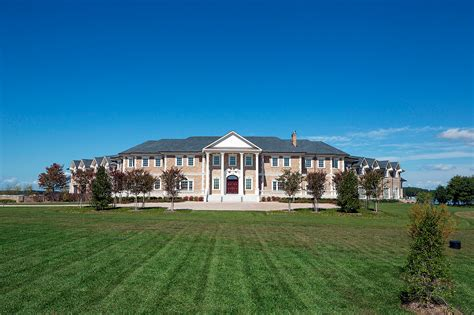 Real Estate Floor Plans newly built waterfront brick mega mansion in oxford md