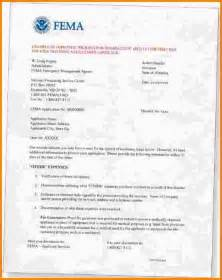 Damage Report Form Template 5 fema appeal letter example nypd resume