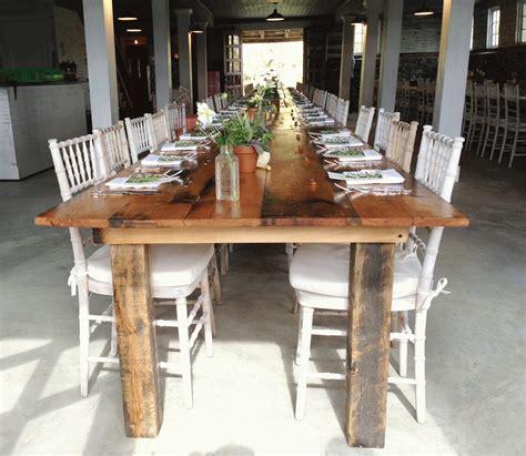 farm table rentals dc