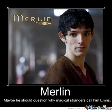 Merlin Kink Meme - merlin demotivational poster by luluguineapig meme center