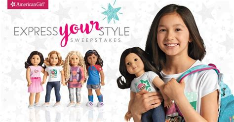 American Express Giveaway - american girl express your style sweepstakes winzily
